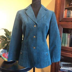 Vintage Abe Schrader Suede blazer-60's small/med